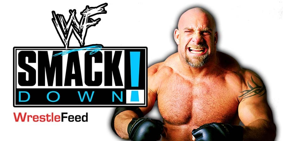 Goldberg SmackDown Article Pic 1 WrestleFeed App
