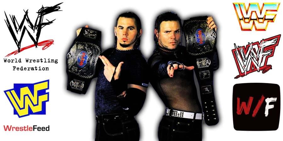 Hardy Boyz Matt Hardy Jeff Hardy Article Pic 2 WrestleFeed App