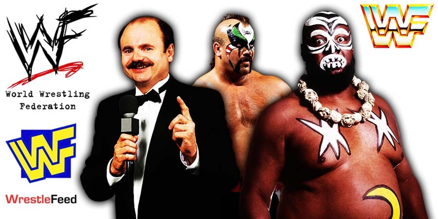 Howard Finkel Road Warrior Animal Kamala WWF Deaths In 2020 WrestleFeed App