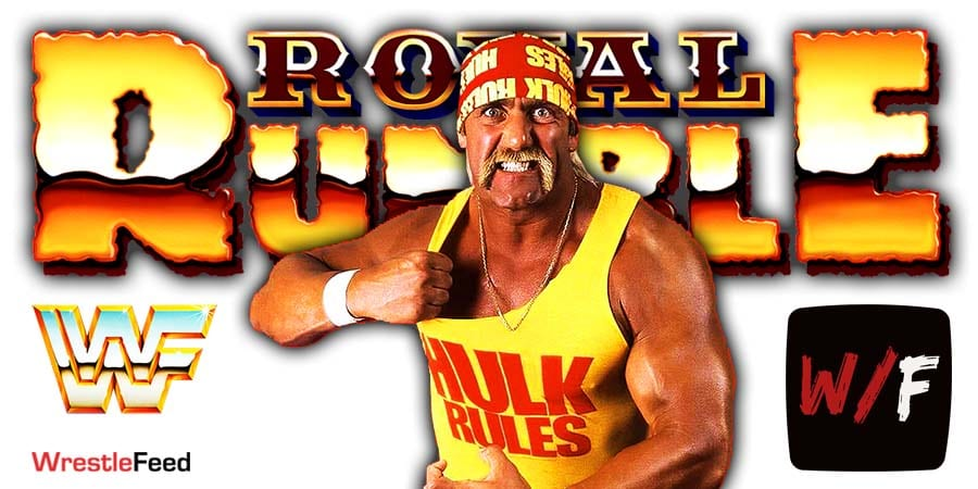 Hulk Hogan Royal Rumble 2021 WrestleFeed App