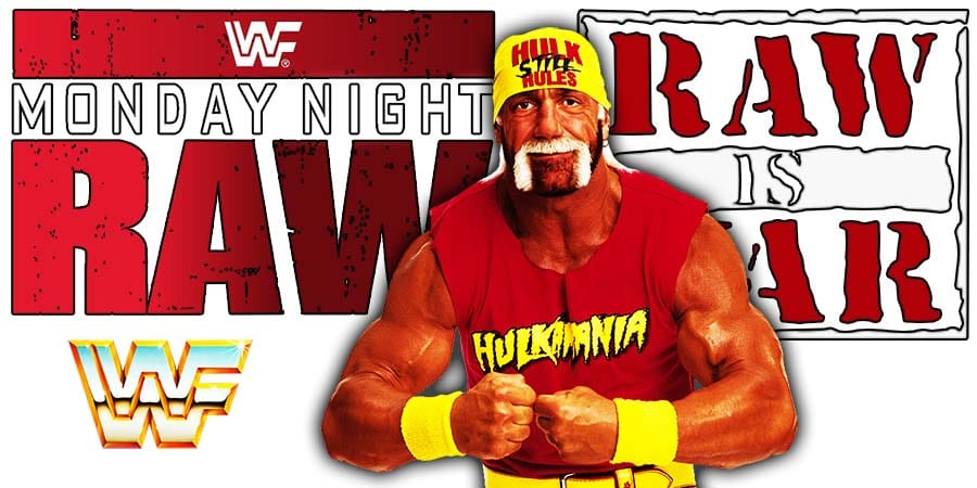 Hulk Hogan Still Rules RAW Article Pic