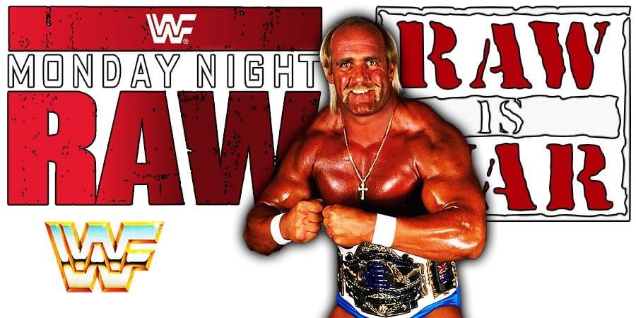Hulk Hogan WWF Champion RAW Article Pic