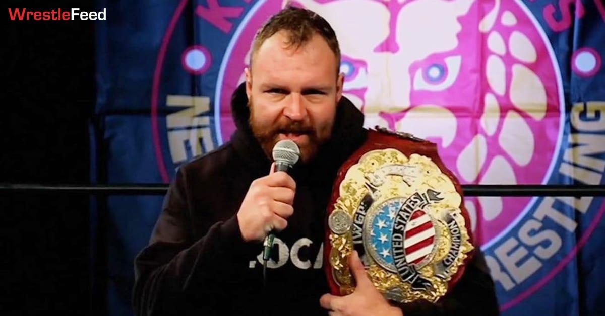 IWGP United States Heavyweight Champion Jon Moxley At NJPW Wrestle Kingdom 15