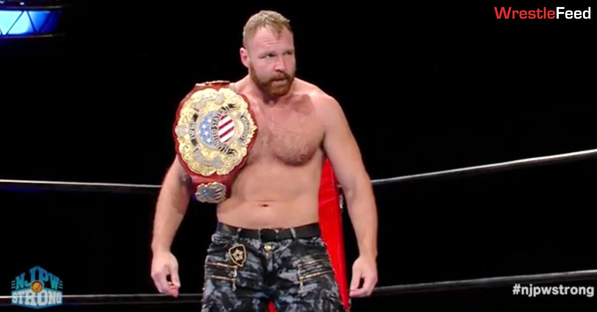 Jon Moxley IWGP United States Heavyweight Champion NJPW Strong January 29, 2021 WrestleFeed App