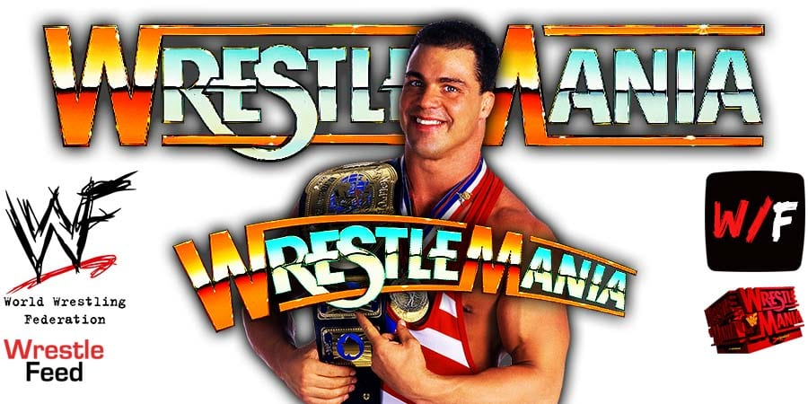 Kurt Angle WrestleMania 19 WrestleFeed App