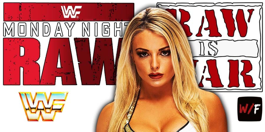 Mandy Rose RAW Article Pic 1 WrestleFeed App