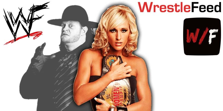 Michelle McCool The Undertaker Article Pic 1 WrestleFeed App