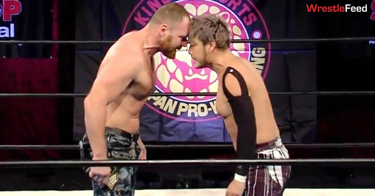 NJPW Strong Results (January 29, 2021) - Jon Moxley Lays Out Kenta WrestleFeed App