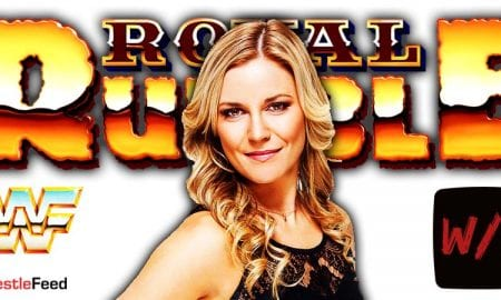 Renee Young Paquette WWE Royal Rumble 2021 WrestleFeed App