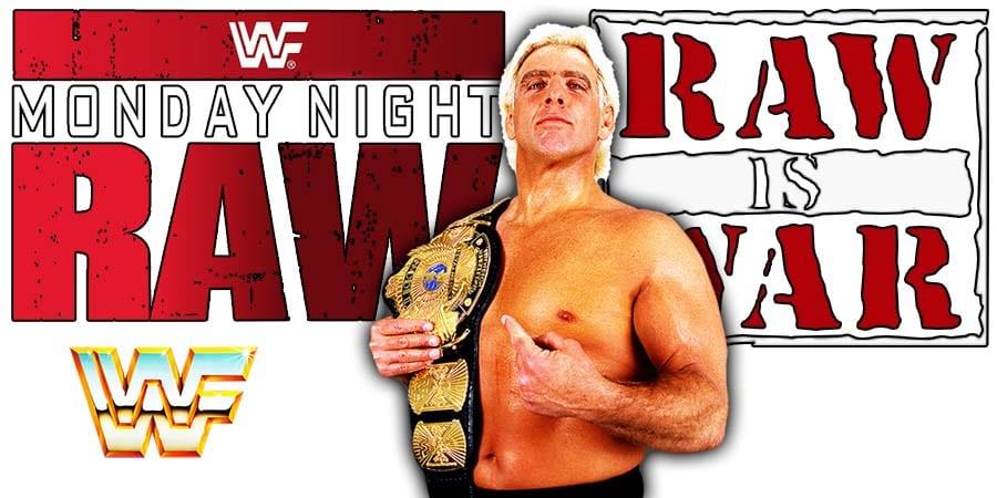 Ric Flair WWF Champion RAW Article Pic