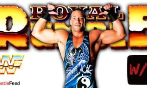Rob Van Dam RVD Royal Rumble 2021 WrestleFeed App