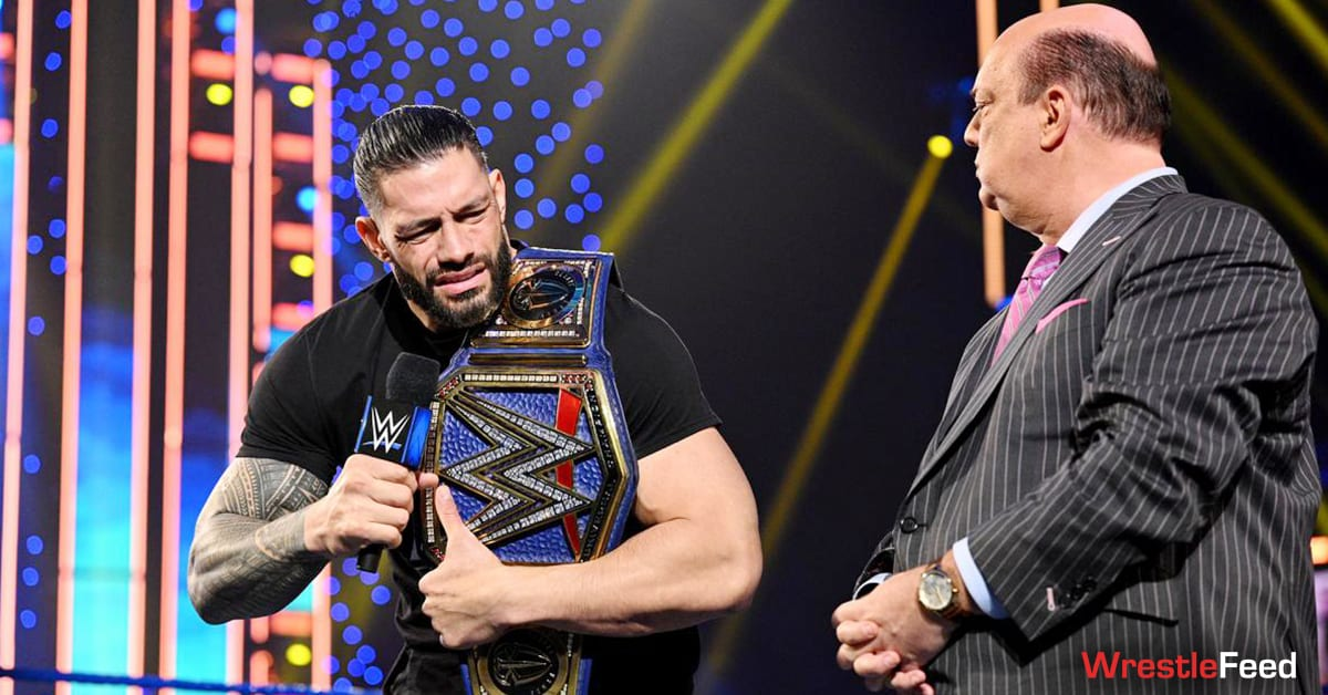 Roman Reigns Disappointed Face Promo Universal Champion Paul Heyman WrestleFeed App