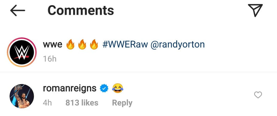 Roman Reigns Laughs At Randy Orton's Masked Look