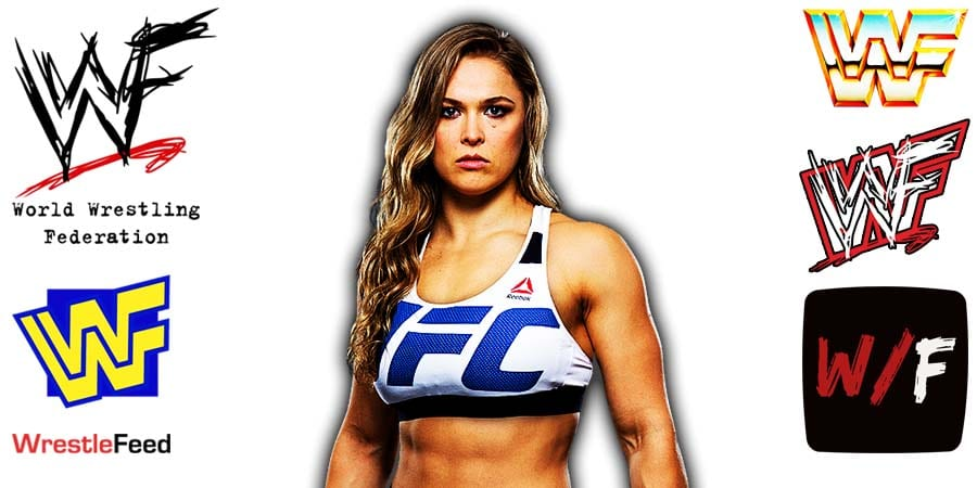 Ronda Rousey Article Pic 2 WrestleFeed App