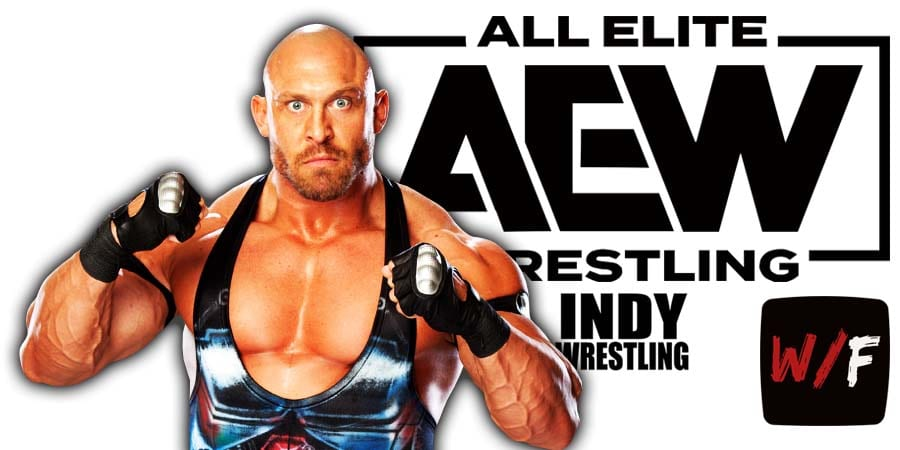 Ryback AEW All Elite Wrestling Article Pic 3 WrestleFeed App
