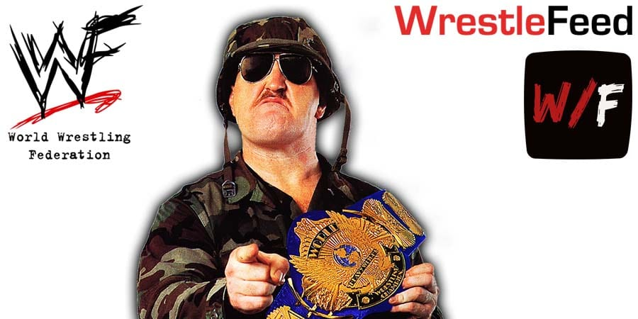 Sgt Slaughter WWF Champion Article Pic 1 WrestleFeed App