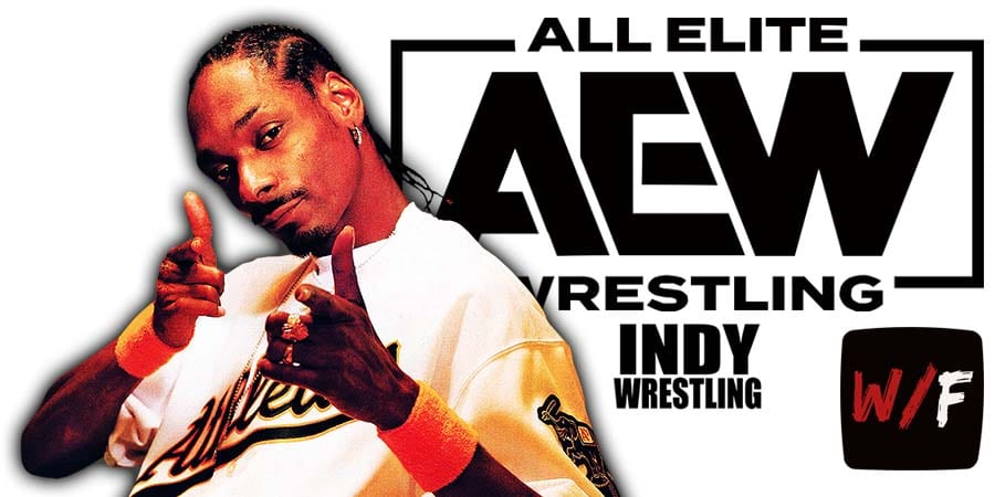 Snoop Doggy Dogg AEW All Elite Wrestling Article Pic 1 WrestleFeed App