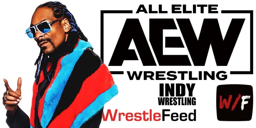 Snoop Doggy Dogg AEW All Elite Wrestling Article Pic 2 WrestleFeed App