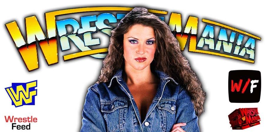 Stephanie McMahon WrestleMania 37 WrestleFeed App