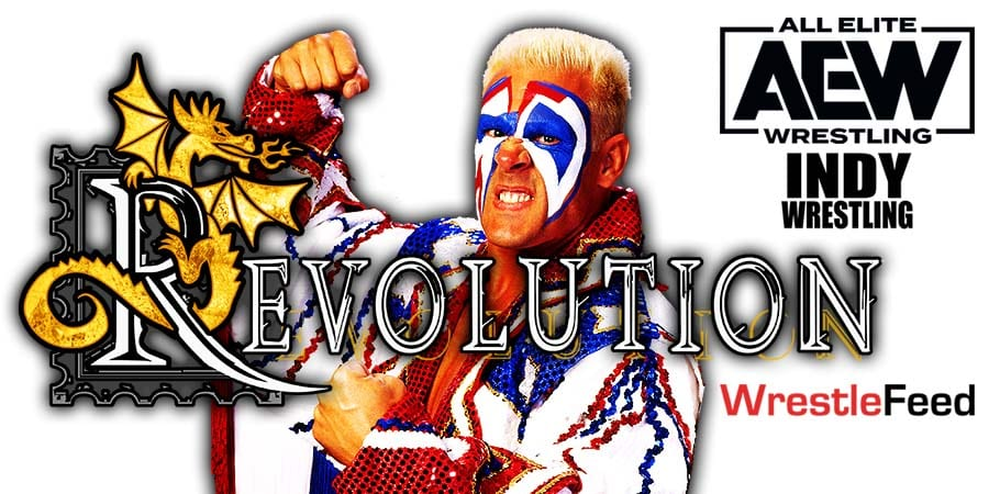 Sting AEW Revolution 2021 WrestleFeed App