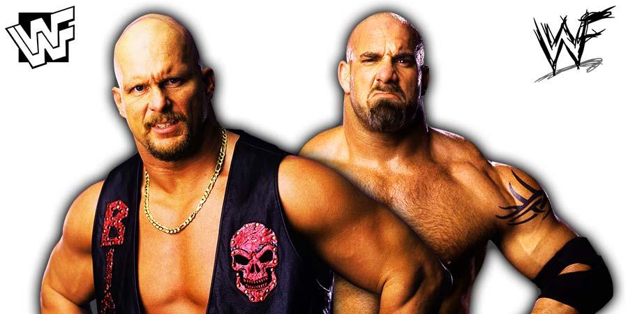 Stone Cold Steve Austin Goldberg WWF WCW