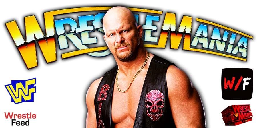 Stone Cold Steve Austin WrestleMania 37 WrestleFeed App