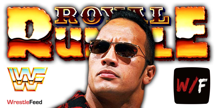 The Rock WWF Royal Rumble 2000 WrestleFeed App