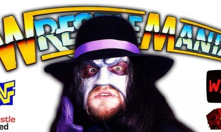 The Undertaker WrestleMania 37 WrestleFeed App