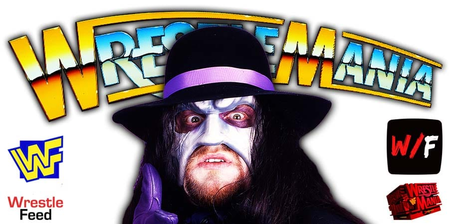 The Undertaker WrestleMania 37 WrestleFeed App