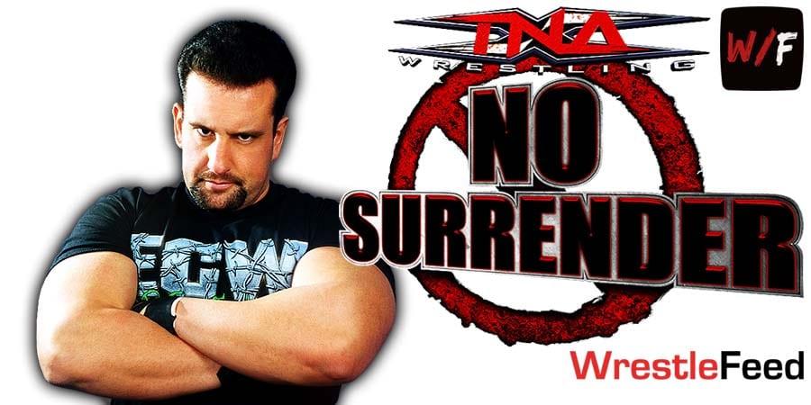 Tommy Dreamer TNA Impact Wrestling No Surrender 2021 WrestleFeed App