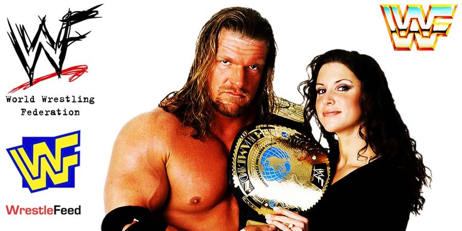Triple H - HHH - Hunter Hearst Helmsley - with Stephanie McMahon - Authority Article Pic 7 WrestleFeed App