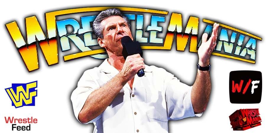 Vince McMahon WrestleMania 37 WrestleFeed App