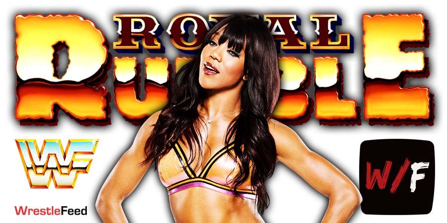 Alicia Fox Royal Rumble 2021 WrestleFeed App