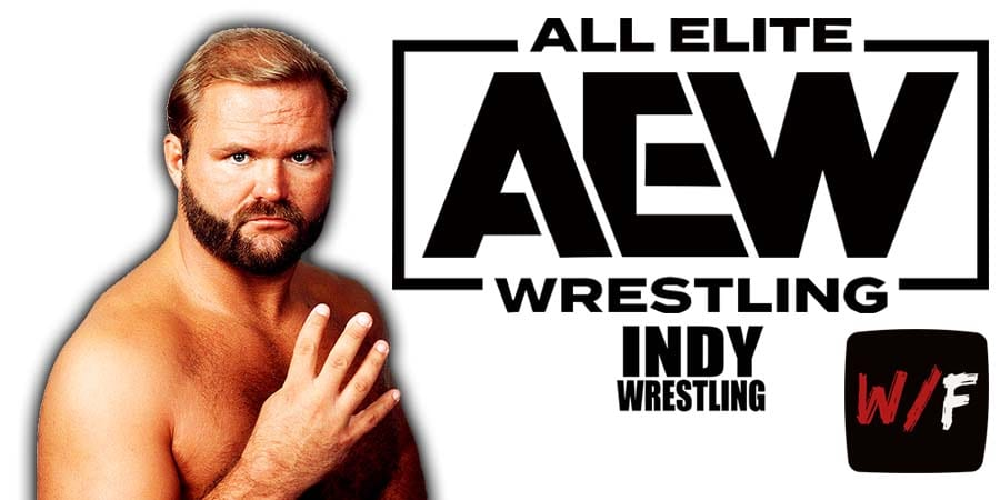 Arn Anderson AEW Article Pic 2 WrestleFeed App