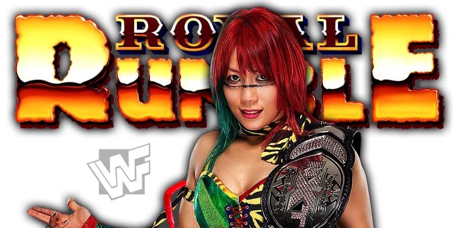 Asuka Royal Rumble 2021
