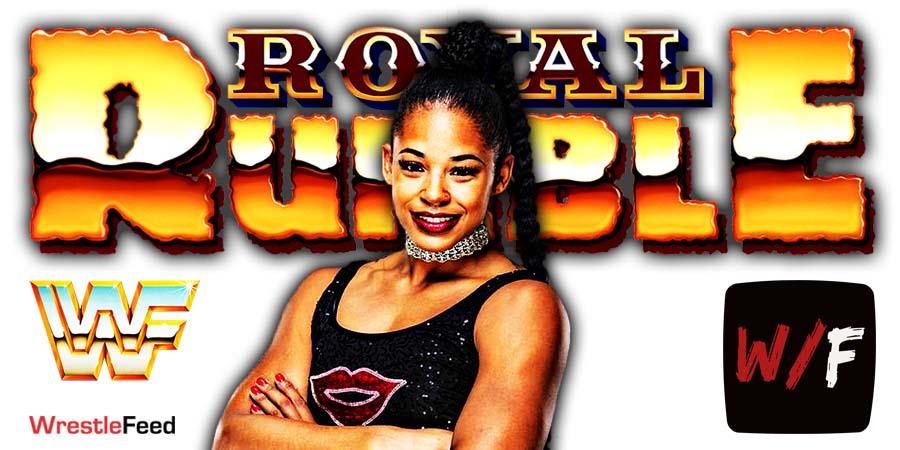 Bianca Belair Wins Royal Rumble 2021 Women's Match WrestleFeed App