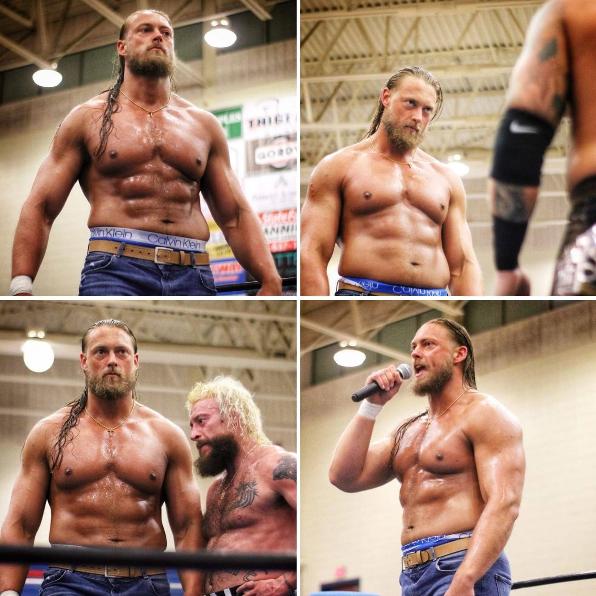 Big Cass Abs Muscles Ripped Jacked Physique Body February 2021