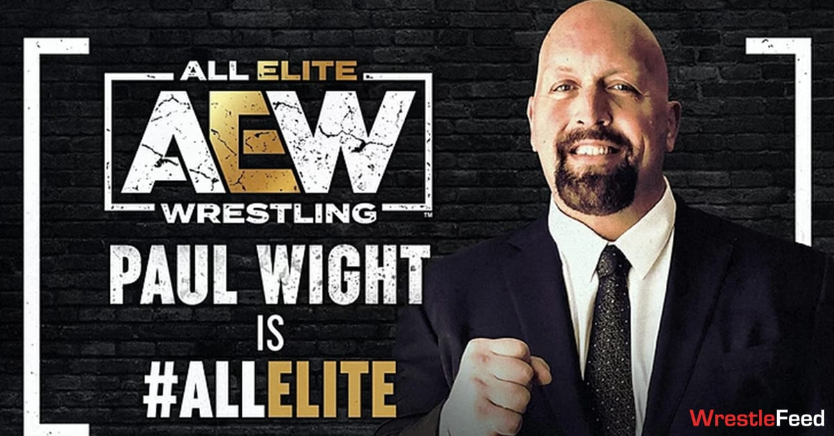 Big Show Paul Wight Signs With AEW WrestleFeed App