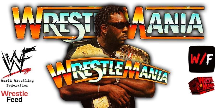 Booker T WrestleMania 37 WrestleFeed App