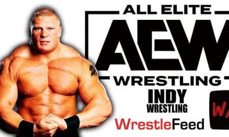 Brock Lesnar AEW All Elite Wrestling Article Pic 3 WrestleFeed App
