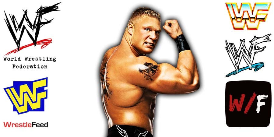 Brock Lesnar Flexing Article Pic 10 WrestleFeed App