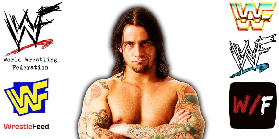 CM Punk Long Hair Article Pic 4 WrestleFeed App