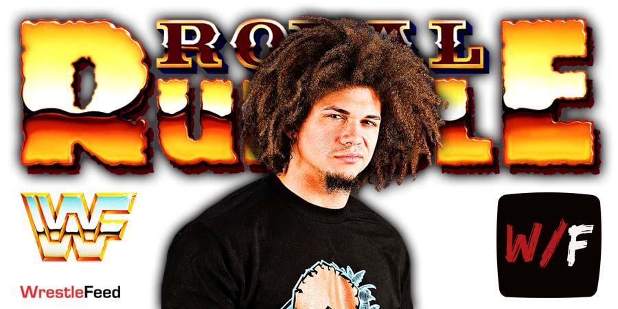 Carlito Caribbean Cool Royal Rumble 2021 Return WrestleFeed App