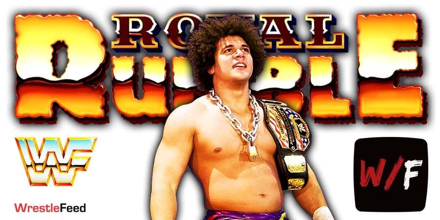 Carlito Returns At Royal Rumble 2021 WrestleFeed App
