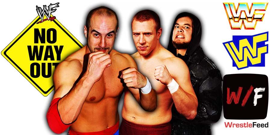 Cesaro Daniel Bryan King Corbin SmackDown Elimination Chamber 2021 Match No Way Out WrestleFeed App