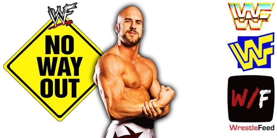 Cesaro Elimination Chamber 2021 No Way Out WrestleFeed App