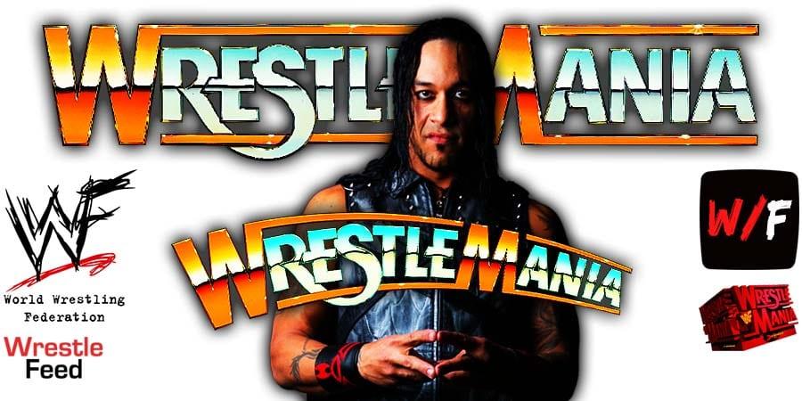 Damian Priest WrestleMania 37 WrestleFeed App