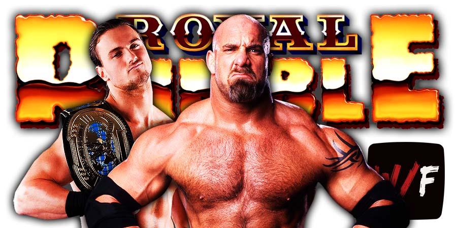 Drew McIntyre Defeats Goldberg At Royal Rumble 2021