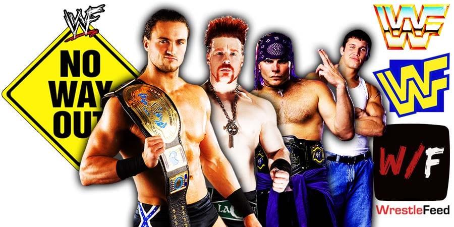 Drew McIntyre Sheamus Jeff Hardy Randy Orton Elimination Chamber 2021 No Way Out WrestleFeed App