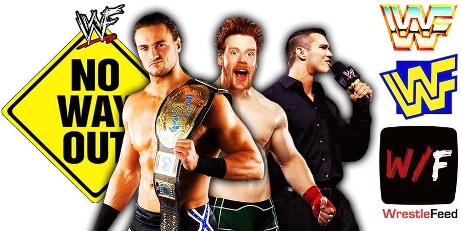 Drew McIntyre Sheamus Randy Orton Elimination Chamber 2021 WrestleFeed App